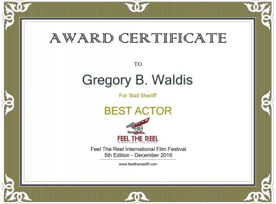 Gregory Best Actor